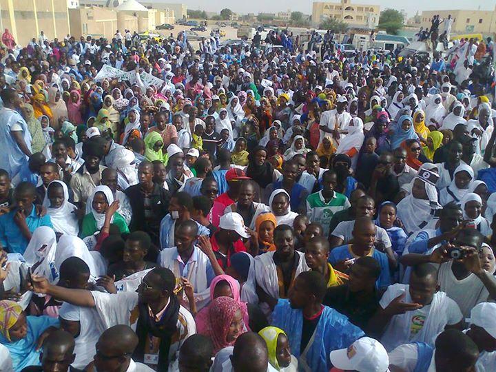 Una manifestazione dell'Ira Mauritania
